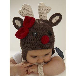 http://www.notonthehighstreet.com/vivandjoe/product/christmas-reindeer-baby-toddler-crochet-hat